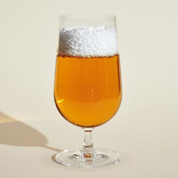 Beer contains microplastics